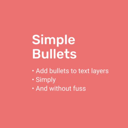 Simple Bullets