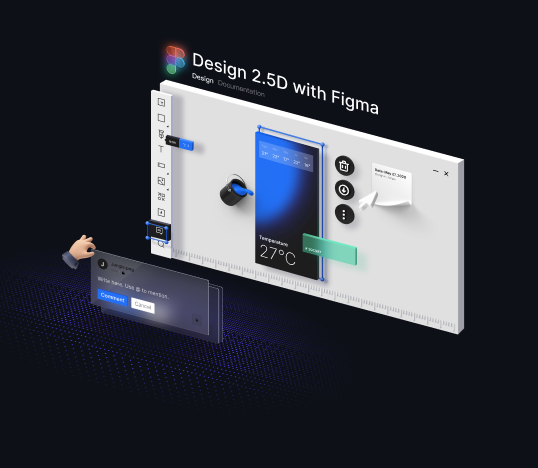 Design 2.5D with Figma