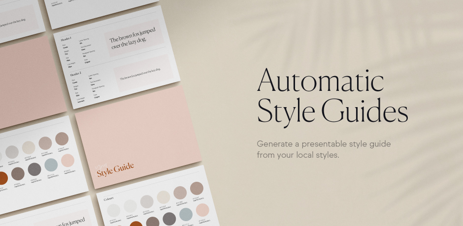 Automatic Style Guides