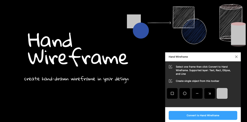Hand Wireframe