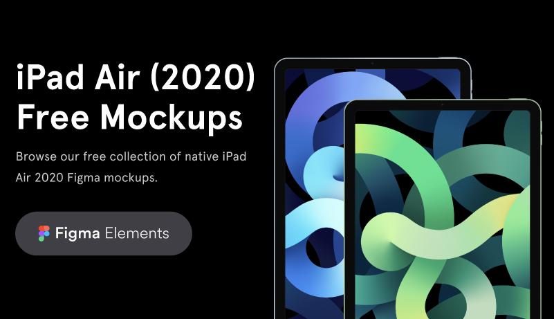 Free Mockups iPad Air 2020
