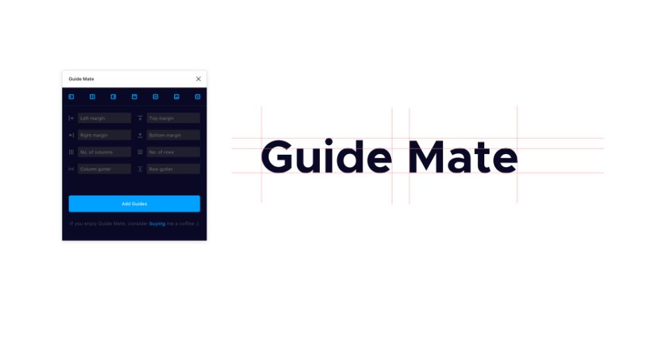 Плагин Guide Mate для Figma
