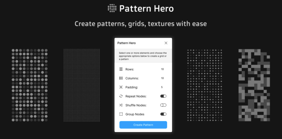 Плагин Pattern Hero для Figma
