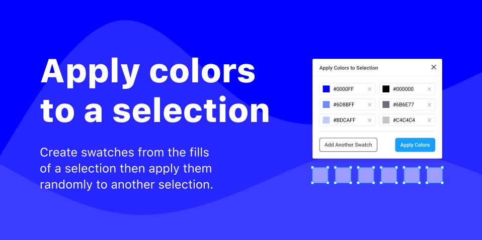 Плагин Apply Colors to Selection для Figma
