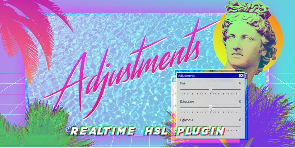 Плагин Adjustments для Figma