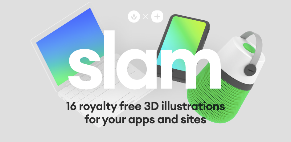 Slam 3D Illustrations