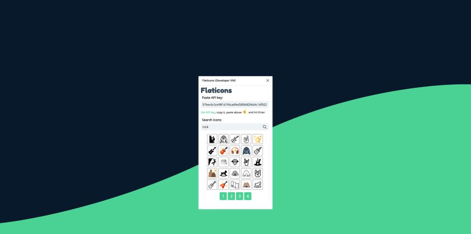 Плагин Flaticons для Figma