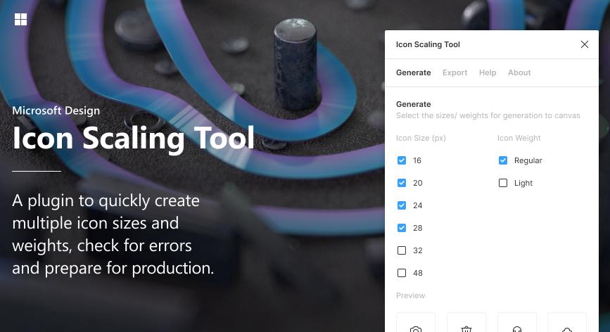 Плагин Icon Scaling Tool для Figma