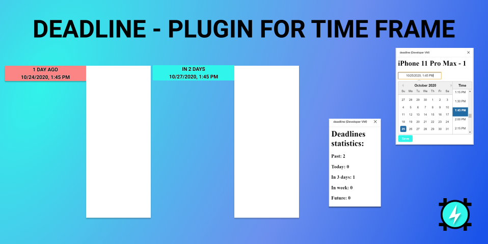 Плагин Deadline для Figma