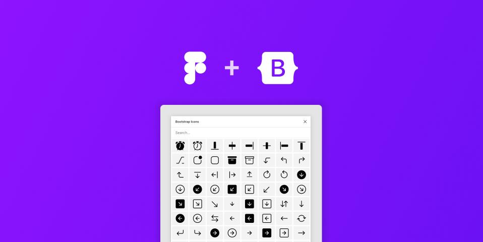 Плагин Bootstrap Icons для Figma