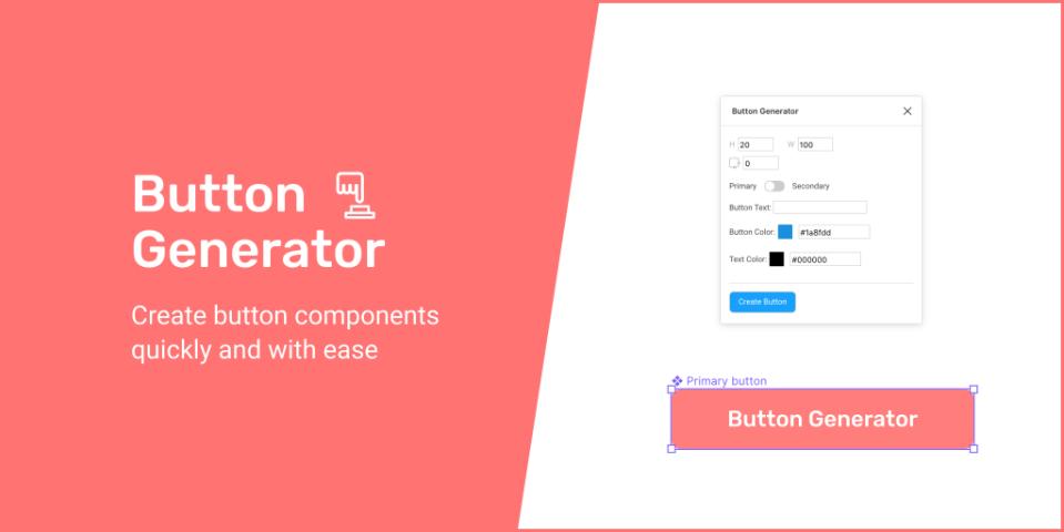 Плагин Button Generator для Figma