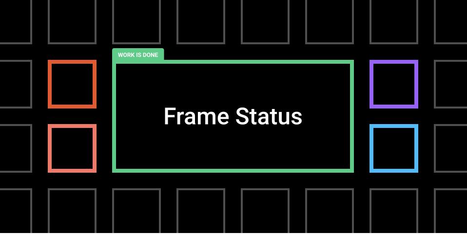 Плагин Frame Status для Figma