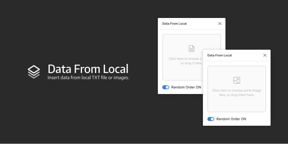 Плагин Data From Local для Figma