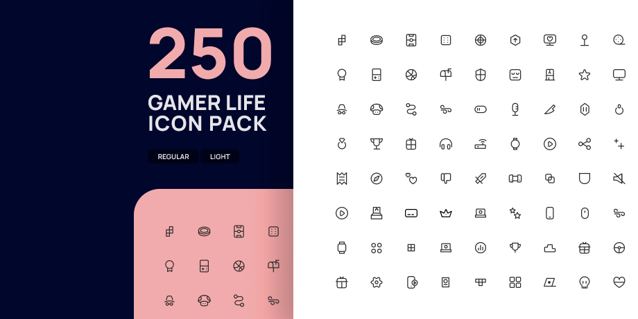 Gamer Life Icon Pack