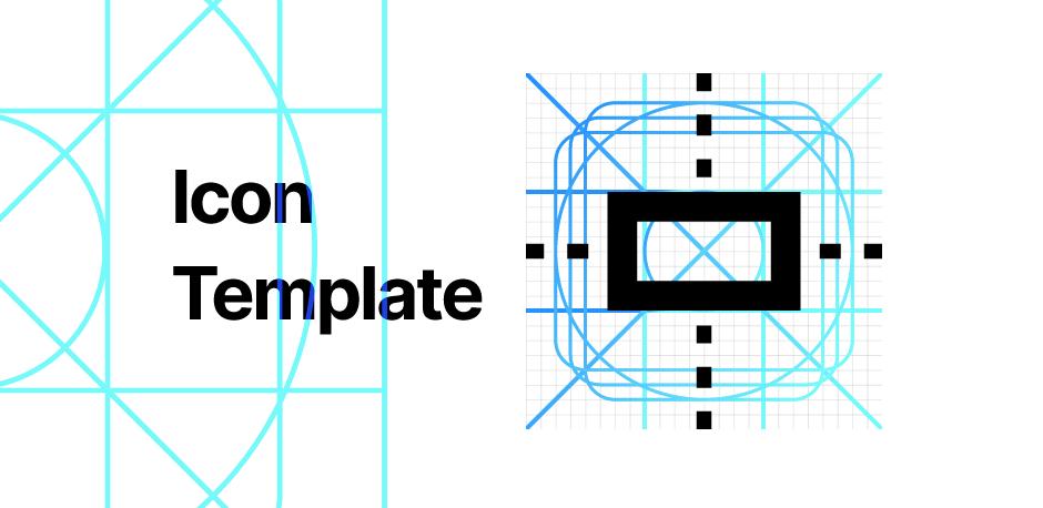 Шаблон иконки для Figma