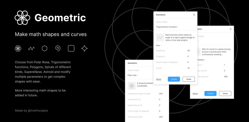 Плагин Geometric для Figma