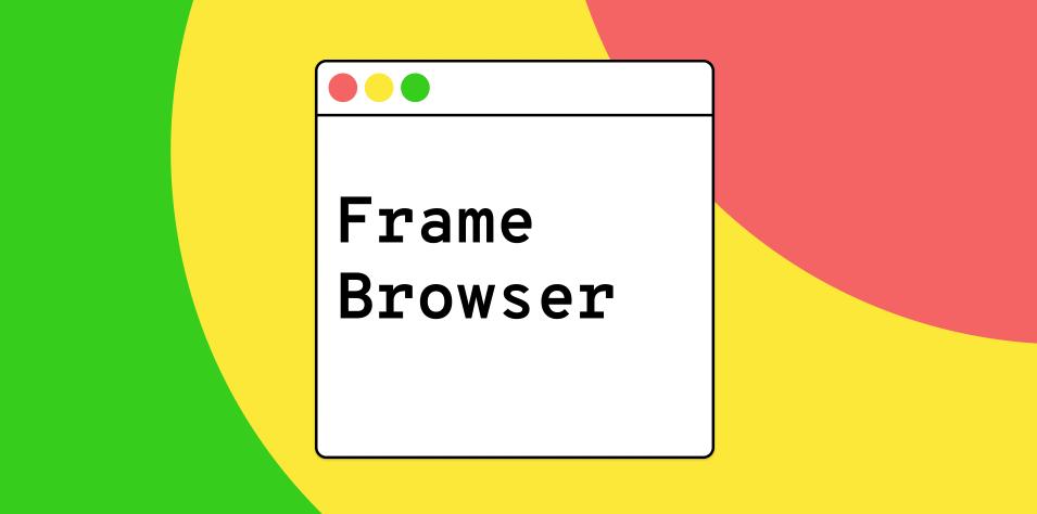 Плагин FrameBrowser для Figma