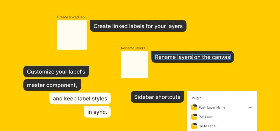 Плагин Label Maker для Figma