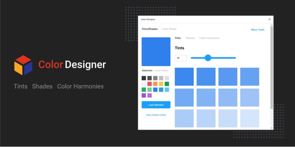 Плагин Color Designer для Figma