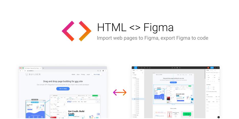 Плагин HTML <-> для Figma