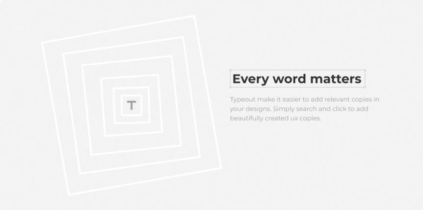 Плагин Typeout для Figma