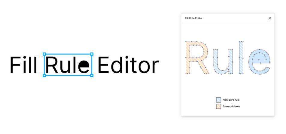 Плагин Fill Rule Editor для Figma