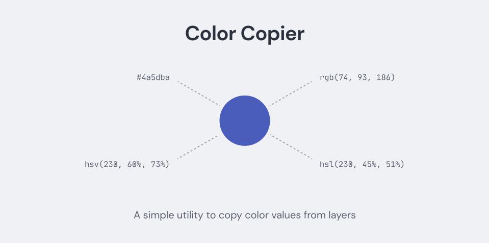 Плагин Color Copier для Figma