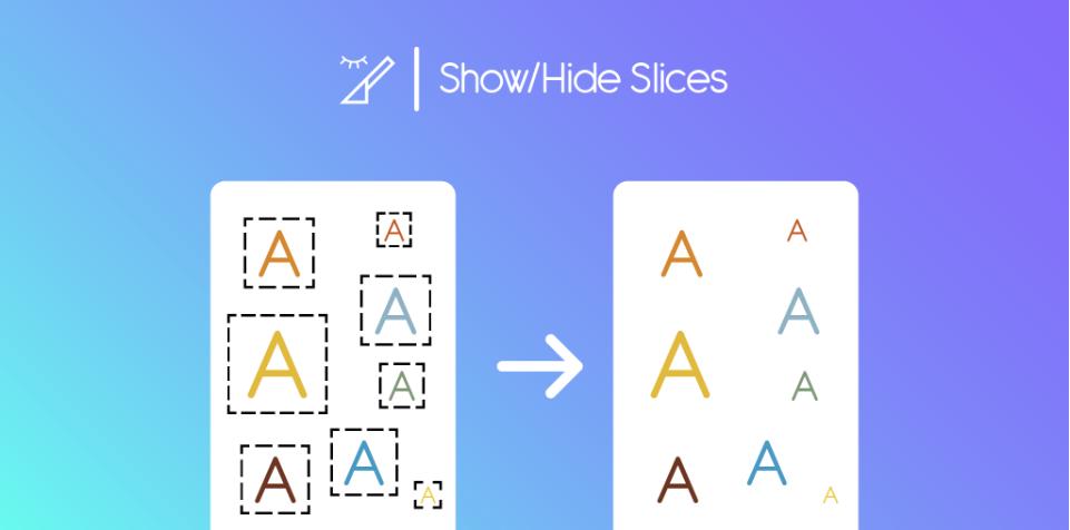 Плагин Show/Hide Slices для Figma