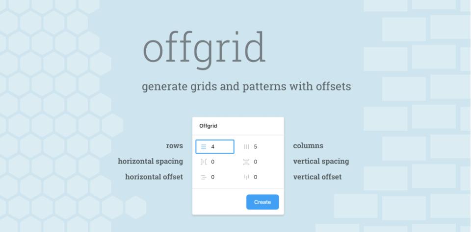 Плагин Offgrid для Figma