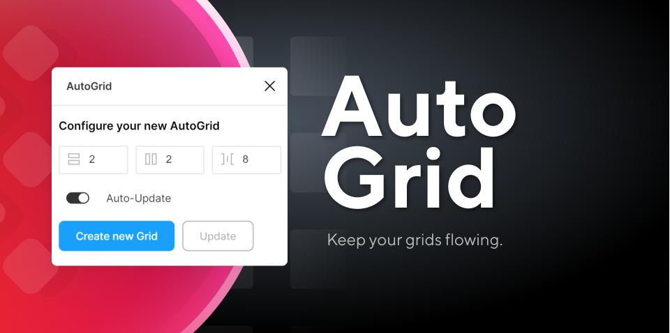 Плагин AutoGrid для Figma