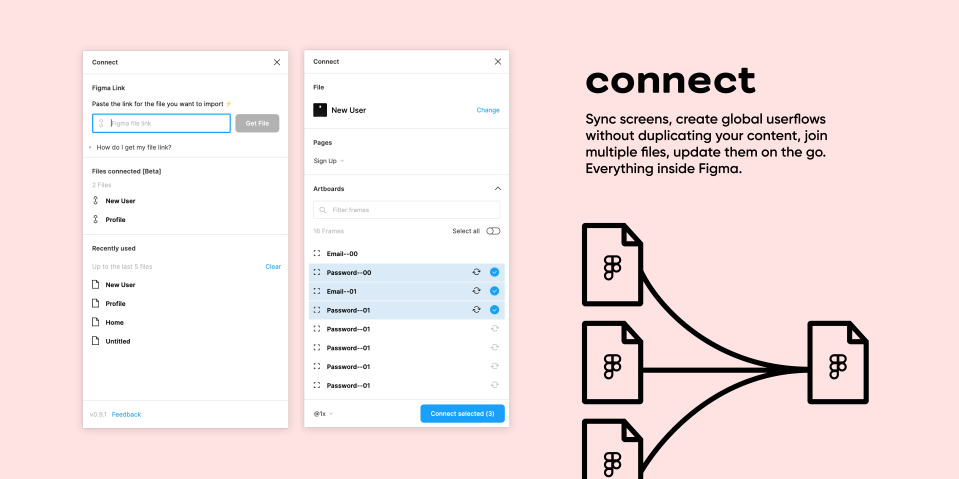 Плагин Connect для Figma