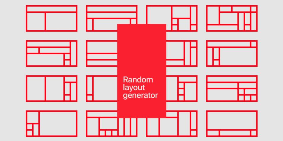 Плагин Random layout generator для Figma