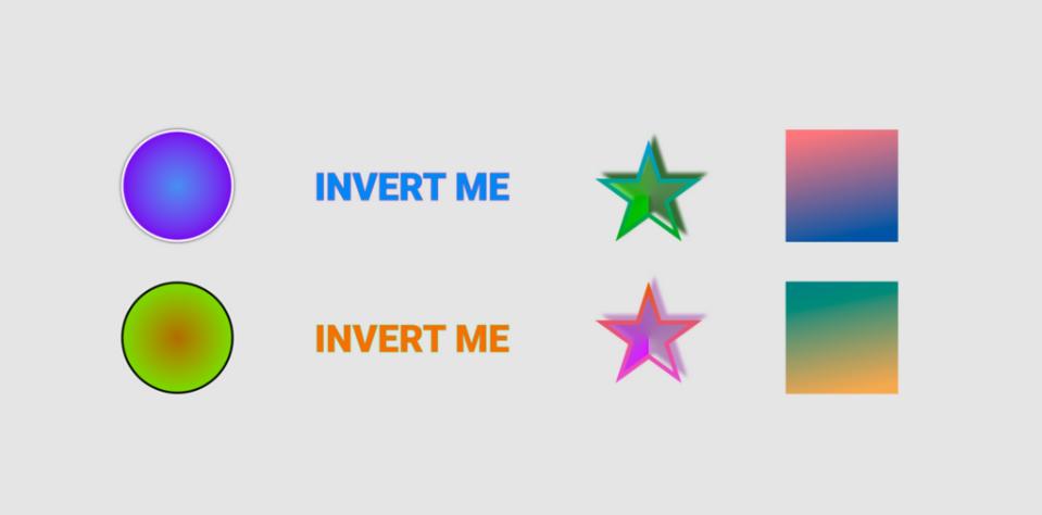 Плагин Invert Color для Figma