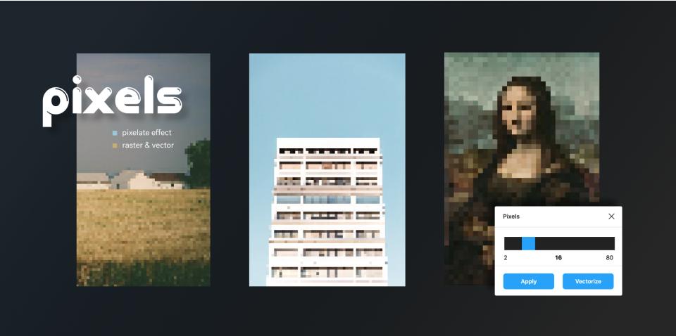 Плагин Pixels для Figma