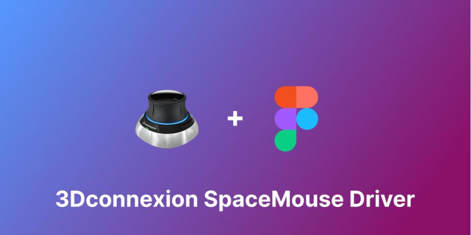 Плагин 3Dconnexion SpaceMouse Driver для Figma