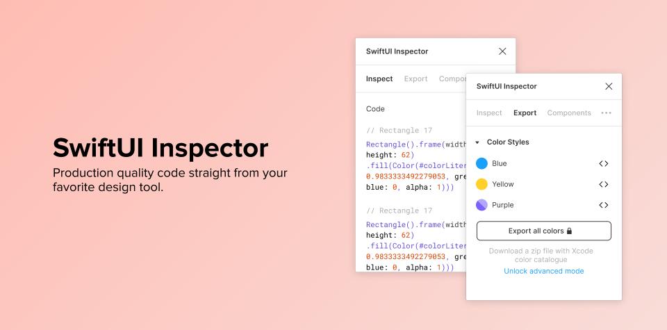 Плагин SwiftUI Inspector для Figma