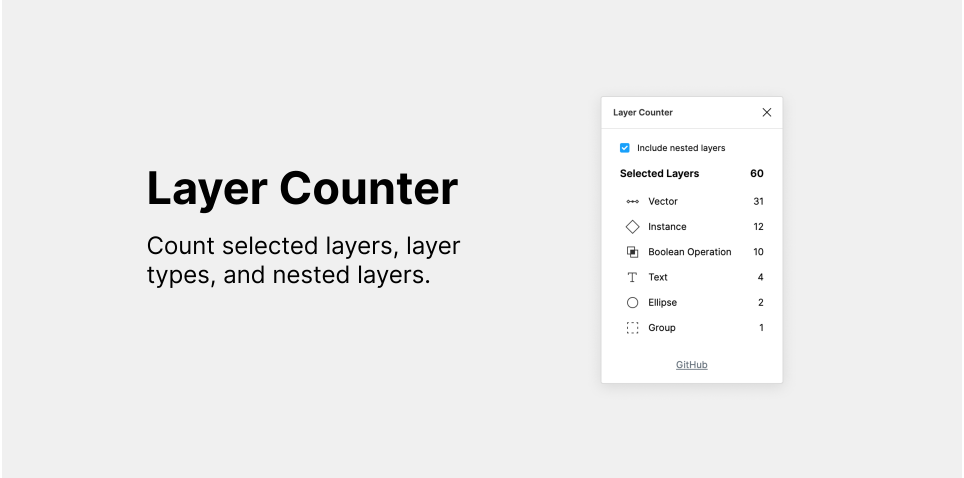 Плагин Layer Counter для Figma