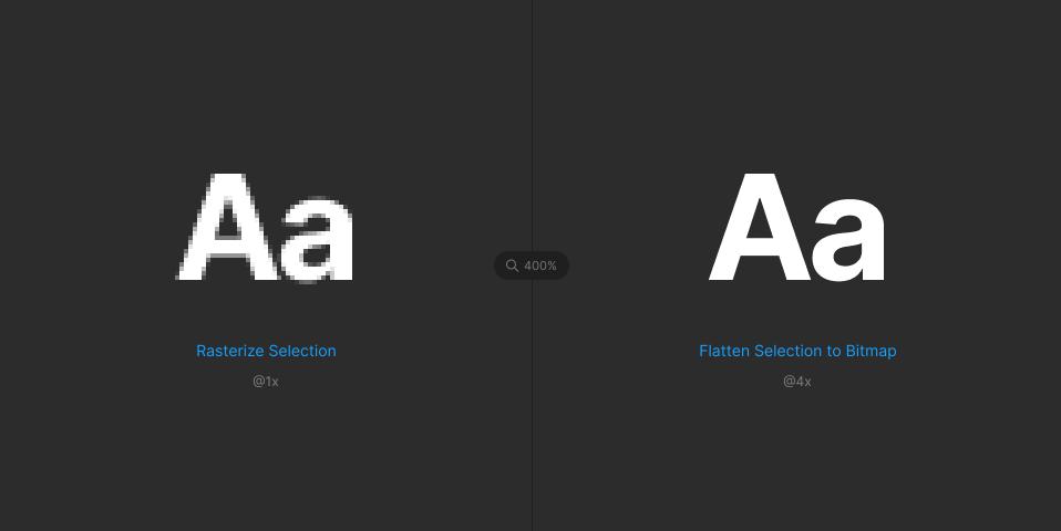 Плагин Flatten Selection to Bitmap для Figma