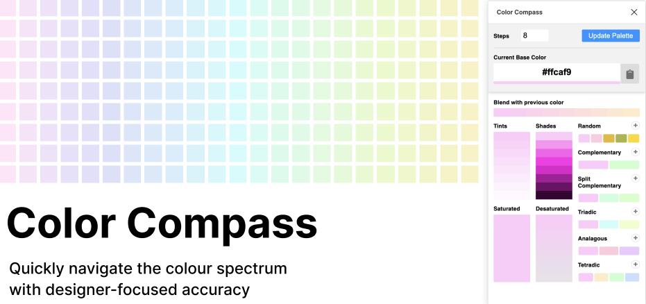 Плагин Color Compass для Figma