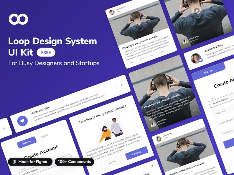 Loop design system UI Kit V2