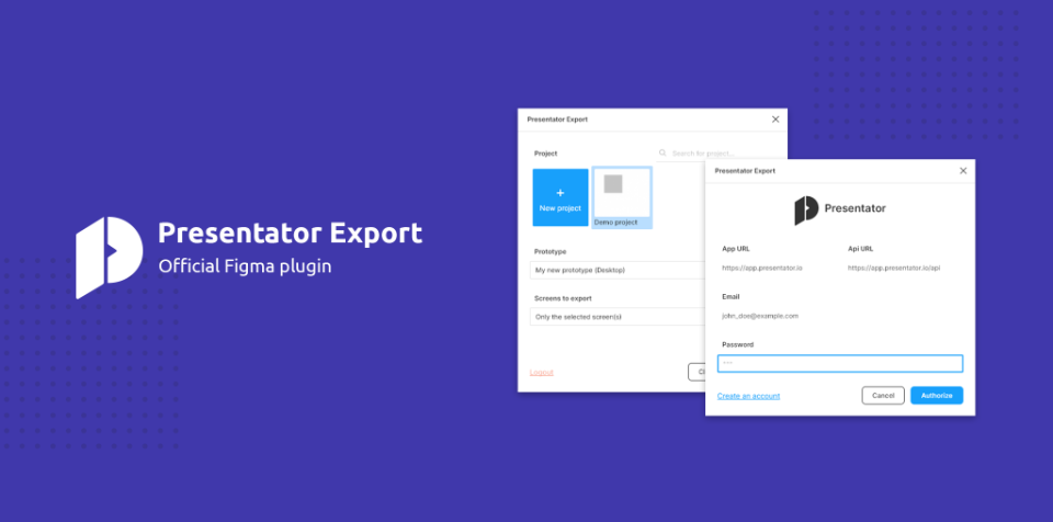 Плагин Presentator Export для Figma