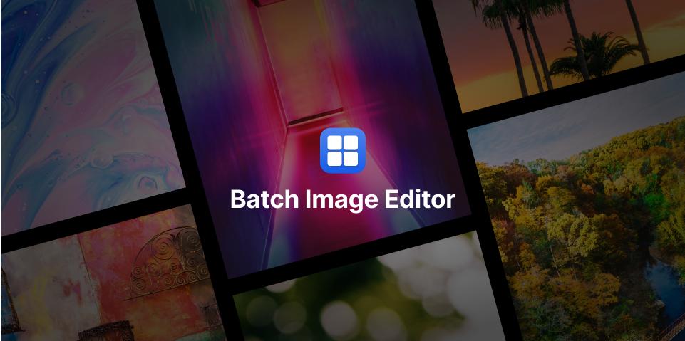Плагин Batch Image Editor для Figma