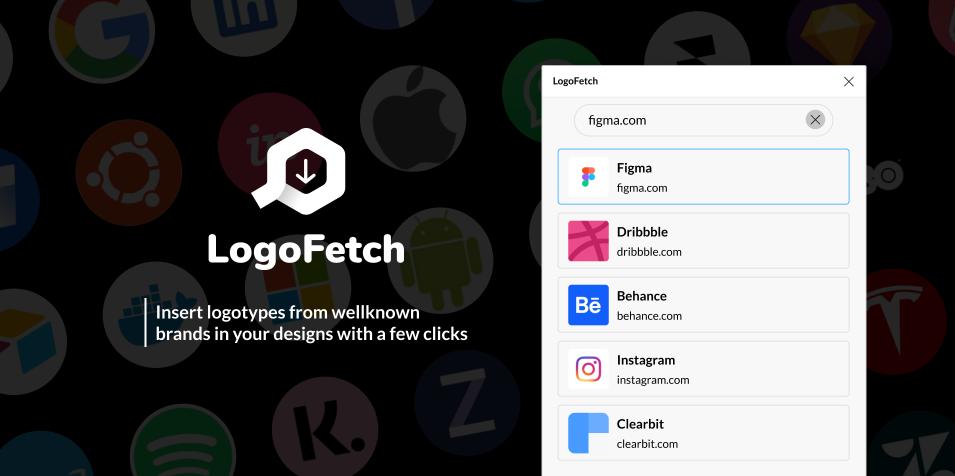 Плагин LogoFetch для Figma