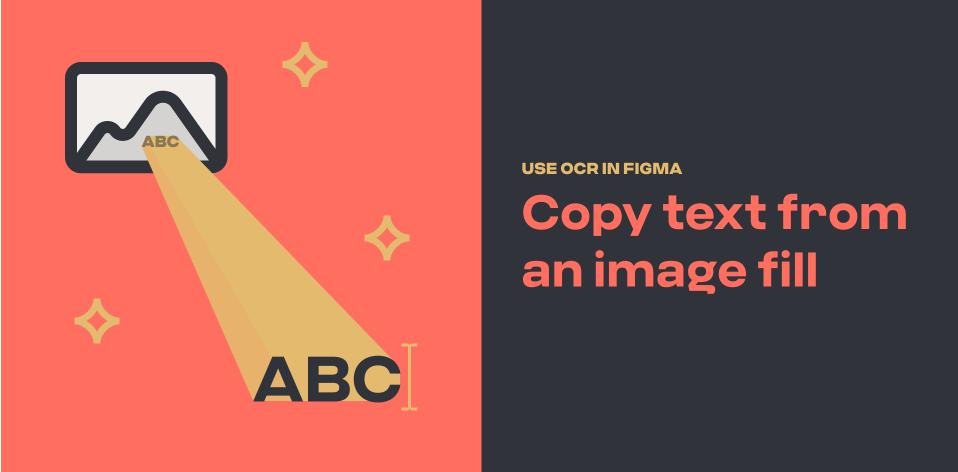 Плагин Text From Image для Figma