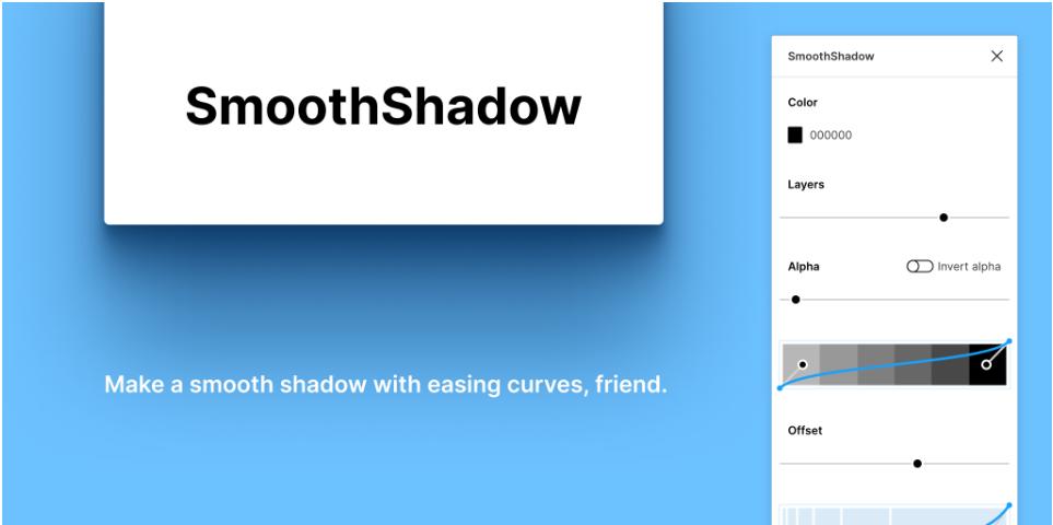 Плагин SmoothShadow для Figma