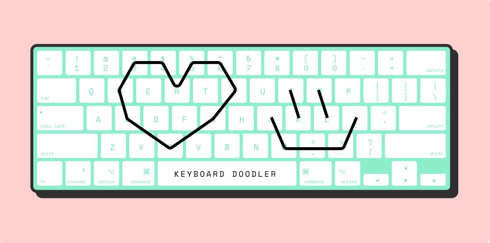 Плагин Keyboard Doodler для Figma