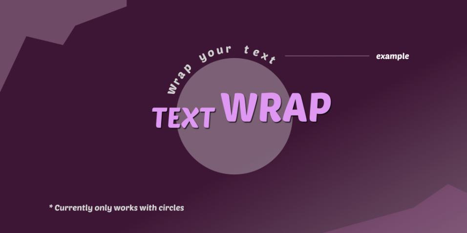 Плагин TextWrap для Figma