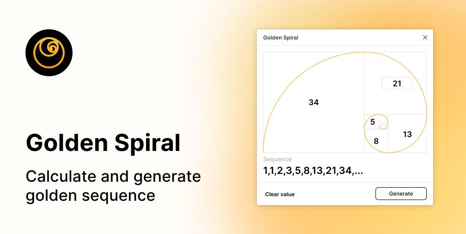 Плагин Golden Spiral для Figma