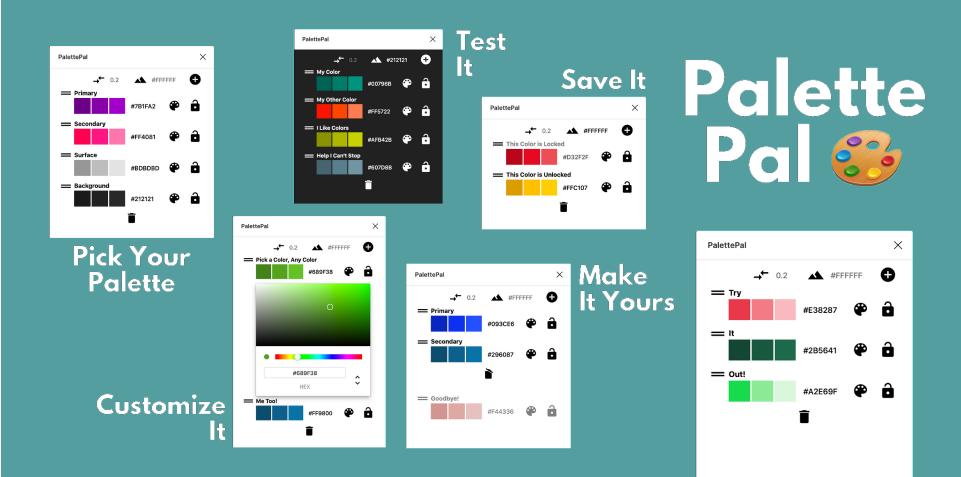 Плагин PalettePal для Figma