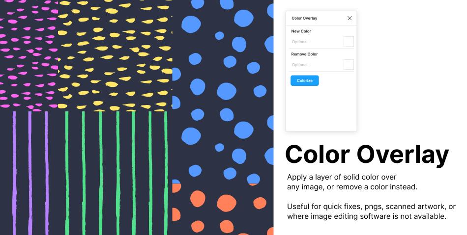 Плагин Color Overlay для Figma